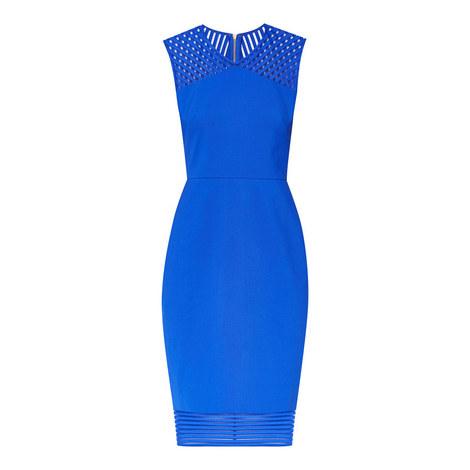 Lucette Mesh Bodycon Dress, ${color}