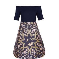 Lydda Off-Shoulder Dress