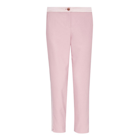 Fionna Panel Tapered Trousers, ${color}