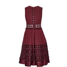 Olym Cutwork Lace A-Line Dress