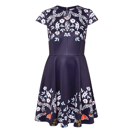 Saydi Kyoto Gardens Skater Dress, ${color}