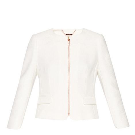 Ila Textured Boxy Jacket, ${color}