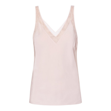 Leiaa Silk Camisole, ${color}