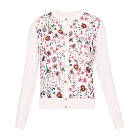 Cler Unity Floral Cardigan, ${color}
