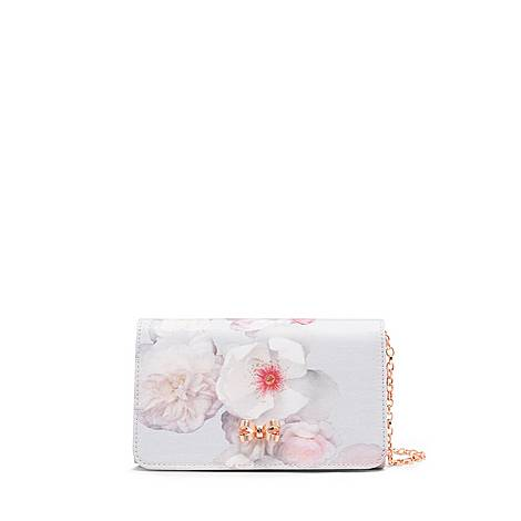 45b131cc24 Ted Baker Cela Chelsea Floral Evening Bag | Brown Thomas