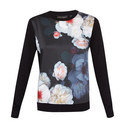 Holiee Chelsea Woven Sweater, ${color}