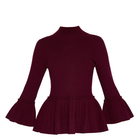 Lislie Pleated Knit, ${color}