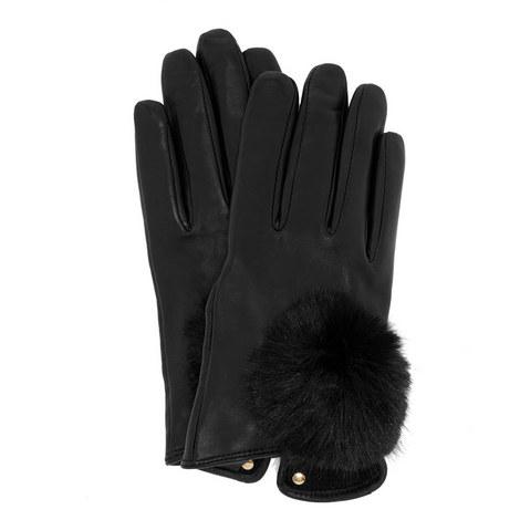 Pomi Leather Gloves, ${color}