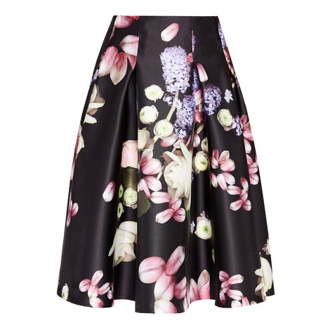 Angi Kensington Flared Skirt, ${color}