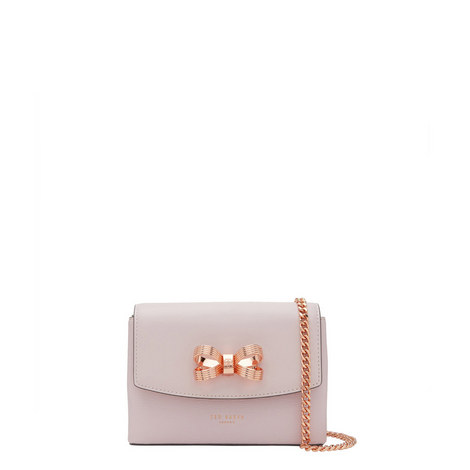 Leorr Looped Bow Crossbody, ${color}