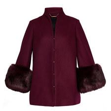 Rilly Faux Fur Cuff Jacket