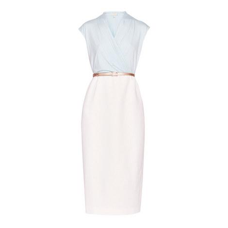 Alfena Wrap Pencil Dress, ${color}