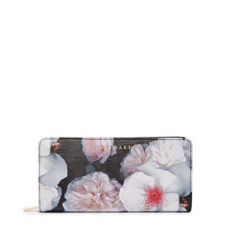 Chelsea Grey Zip-Around Wallet, ${color}