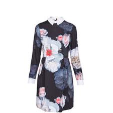 Kaleesa Chelsea Grey Shirt Dress