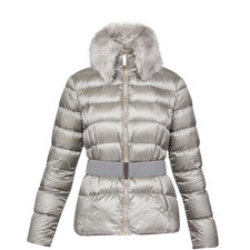 Junnie Faux Fur Quilted Jacket