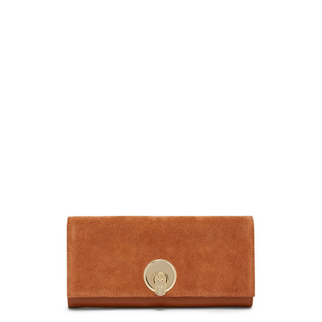 Circle Lock Continental Wallet, ${color}