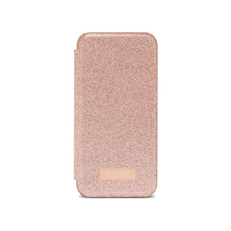 Glitsie Glitter iPhone 6/6s/7/8 Mirror Case, ${color}