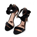 Torabel Velvet Heeled Sandals, ${color}