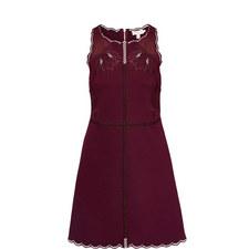 Codi Scallop Trim A-Line Dress