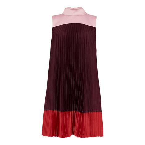 Kimmea Pleated Shift Dress, ${color}