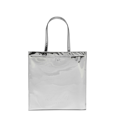 Jencon Mirrored Tote Large, ${color}