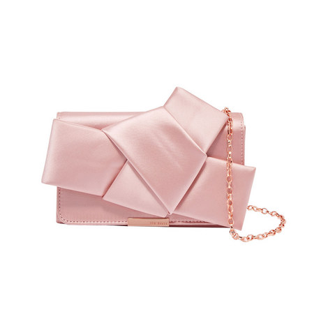 Fefee Bow Satin Evening Bag, ${color}