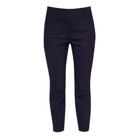 Baylea Split Hem Cropped Trousers, ${color}