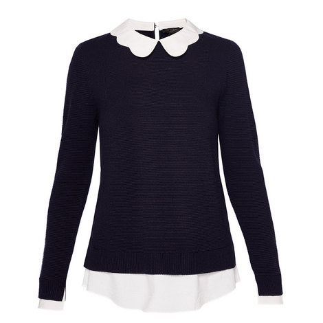 Bronwen Scallop Collar Knit, ${color}
