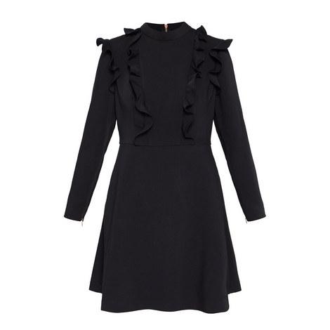 Fashal Frill Tunic Dress, ${color}
