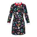 Tillena Hampton Court Appliqued Collar Dress, ${color}