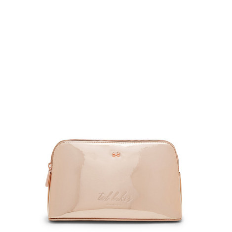Lindsay Mirrored Make-Up Bag, ${color}