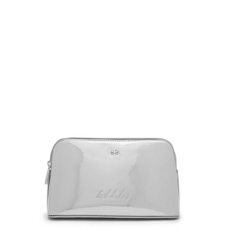Lindsay Mirrored Make-Up Bag, ${color}