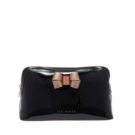 Libbert Bow Detail Wash Bag, ${color}