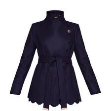 Aastar Scallop Wrap Jacket