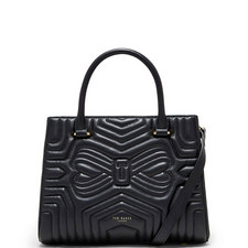Viera Quilted Tote Bag