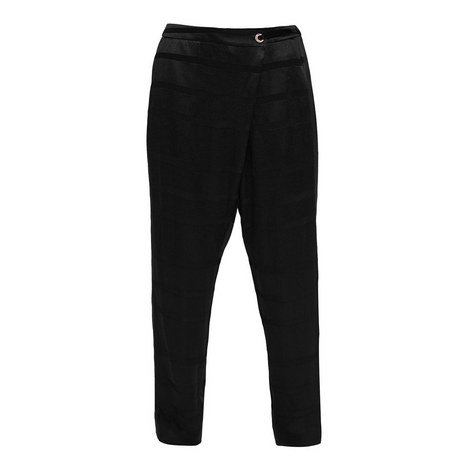 Steller Wrap Front Trousers, ${color}
