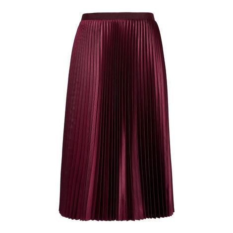 Oreliaa Pleated Mini Skirt, ${color}