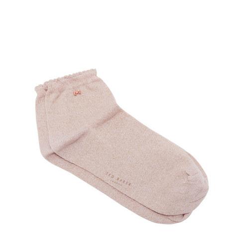 Ouida Lurex Socks, ${color}