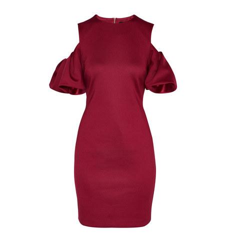 Salnie Gathered Sleeve Dress, ${color}
