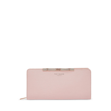 Yasmine Mini Leather Matinee Purse, ${color}