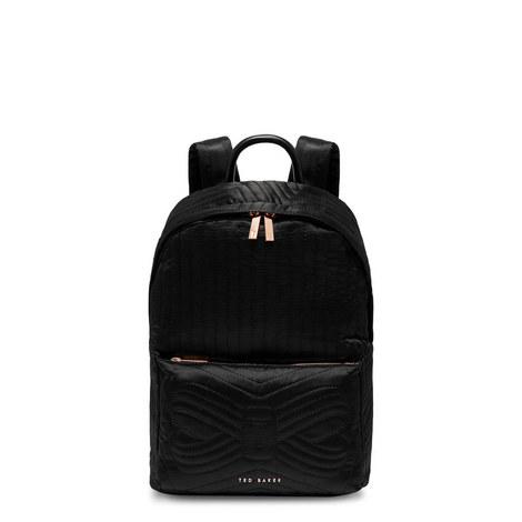 Akija Quilted Sateen Backpack, ${color}