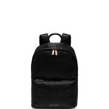 Akija Quilted Sateen Backpack