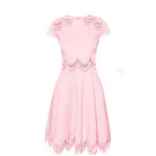 Rehanna Embroidered Skater Dress