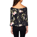 Bruklin Bell Sleeve Bardot Top, ${color}