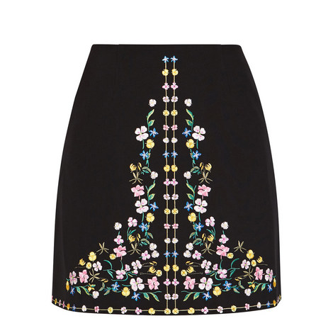 Yuliett Hampton Court Mini Skirt, ${color}