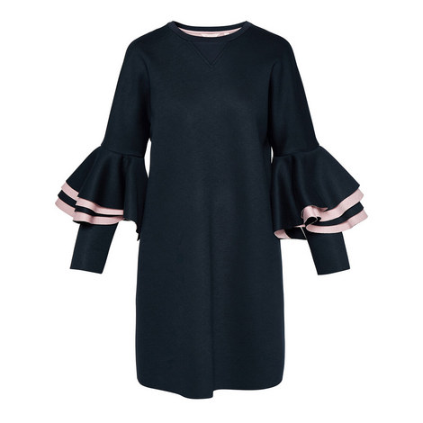 Chloae Ruffle Dress, ${color}