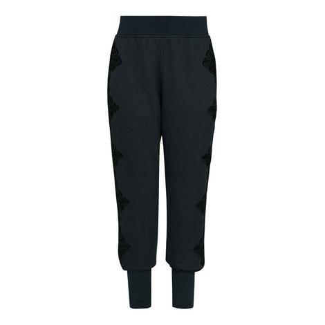 Lizeeba Lace Contrast Joggers, ${color}
