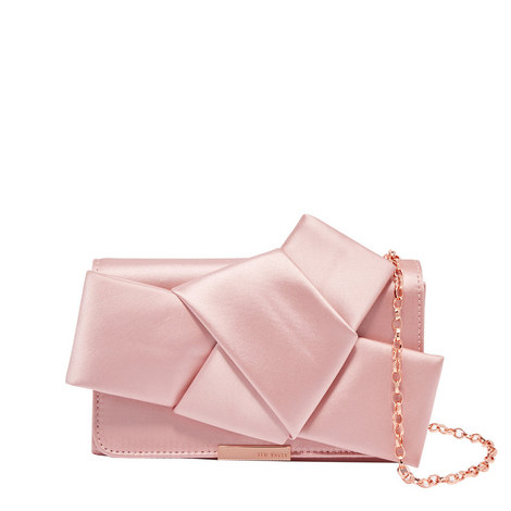 Fefee Knot Bow Evening Bag, ${color}