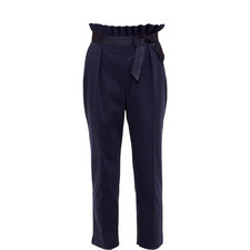 Verbo Fixed Bow Belt Trousers