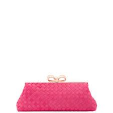 Alaina Woven Clutch Bag